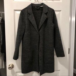 Wool Blend Topper Coat